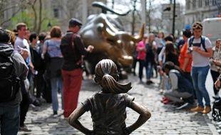 La statue imaginée par l'agence de publicité McCann à New York est devenue le symbole de l'émancipation des femmes.