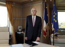 Michel Cadot, préfet de la région Ile-de-France, dans son bureau en 2017.