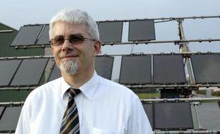 Dominique Guillardeau, précurseur de l'électricité photovoltaïque.