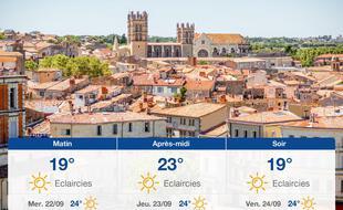 Météo Montpellier: Prévisions du mardi 21 septembre 2021