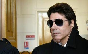 Jean-Luc Lahaye, le 23 mars 2015 à son procès pour corruption de mineure