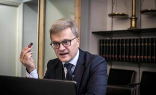 Christophe Leguevaques, avocat toulousain, est le porte-parole des patients ayant souffert des effets indésirables de la nouvelle formule du Levothyrox.  JEAN-PHILIPPE KSIAZEK/ AF