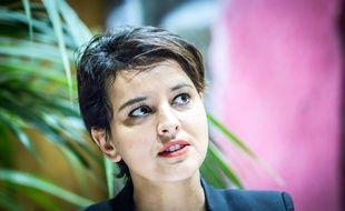 Najat Vallaud-Belkacem, ministre de l'Éducation nationale.