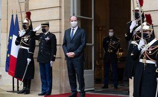 Le Premier ministre Jean Castex, à Matignon le 14 décembre 2020.