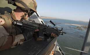 Un militaire français de l'opération Serval, au Mali en 2013.