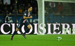 Le capitaine du PSG Marquinhos.