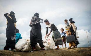 Depuis le 25 octobre 2017, les violences entre musulmans et bouddhistes en Birmanie ont mis des milliers de civils sur les routes.