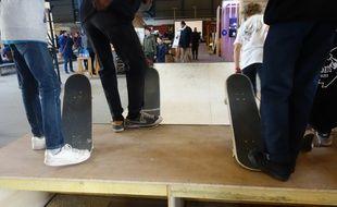 Le lieu est ouvert à tous les types de skateurs.