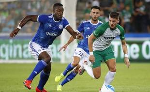 Lamine Koné et les Strasbourgeois bien partis pour continuer l'aventure en Ligue Europa.