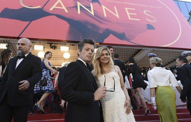 Benjamin Biolay et Louane à Cannes, mercredi 17 mai.