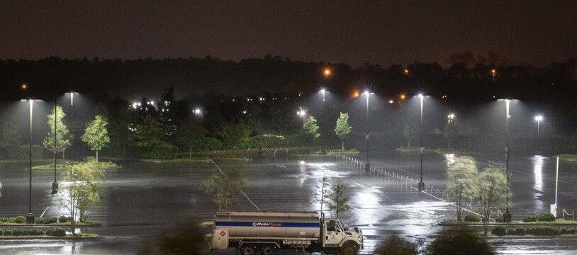 L'ouragan Laura a atteint la Louisiane, le 27 août 2020.