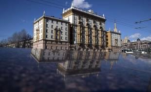 L'ambassade américaine de Moscou, en Russie.