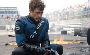 Robert Downey Junior dans Iron Man 2