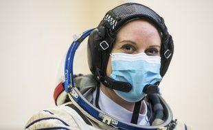 L'astronaute américaine Kate Rubins a voté depuis l'espace jeudi 22 octobre 2020.