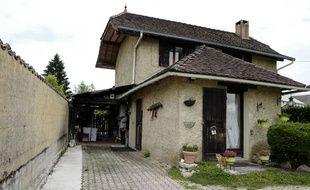 La maison des parents de Nordhal Lelandais où il est suspecté d'avoir agressé sexuellement sa cousine.