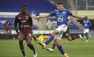 Mehdi Chahiri a signé sa deuxième titularisation d'affilée face à Metz dimanche dernier.