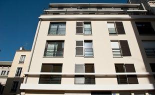 Immeuble de quatre étages - photo d'illustration