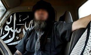 L'otage français Serge Lazarevic dans une vidéo mise en ligne par Aqmi le 17 novembre 2014.