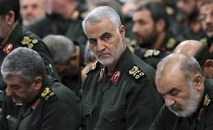 Le général Qassem Soleimani, le 18 septembre 2016 à Téhéran