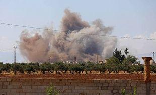 L'aviation russe et les forces loyalistes du régime de Bachar al-Assad ont entamé ce weekend le pilonnage de la province d'Idleb