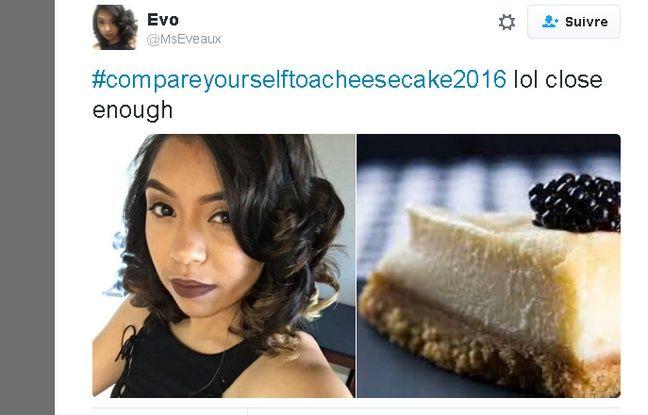 Capture écran Twitter du compte Evo @MsEveaux du 26 avril 2016.
