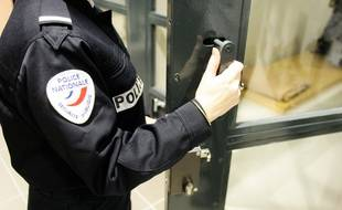Au commissariat central de Toulouse, les cellules des gardés à vue.