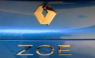 La Renault Zoe est l'une des principales voitures électriques du marché.