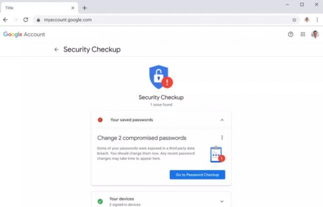 Google veut empêcher ses utilisateurs de réutiliser les mêmes mots de passe