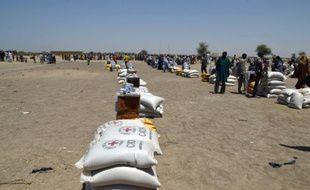 Des déplacés du lac Tchad le 25 mai 2015 à Bosso