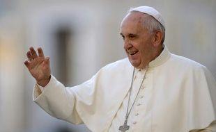 Le pape François, le 9 septembre 2015 place Saint Pierre, au Vatican