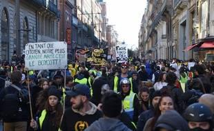 A Toulouse, le 16 novembre lors de l'acte 14 des