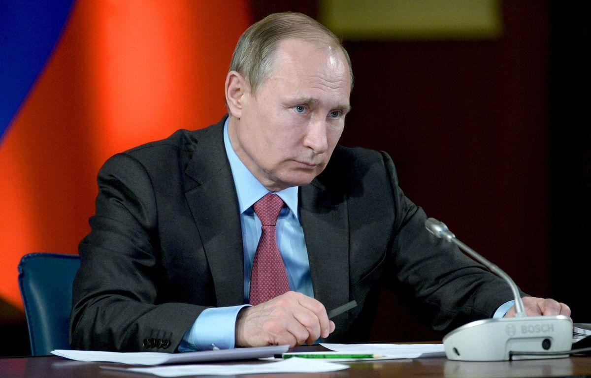 Vladimir Poutine, le 14 mars 2016. – Alexei Nikolsky/AP/SIPA
