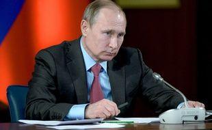 Vladimir Poutine, le 14 mars 2016.
