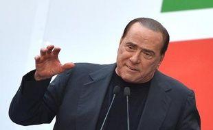Silvio Berlusconi à Rome, le 4 août 2013