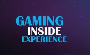 Logo de l'émission Gaming Inside Experience, prévue pour avril 2017.