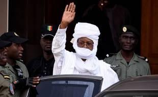Hissène Habré, ici à Dakar, en juin en 2015.