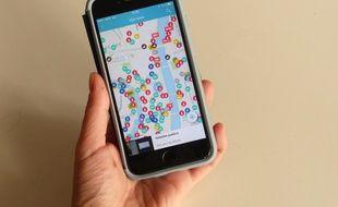 L'application CityLity recense notamment les points éco-citoyens (benne à vêtements, silos à verre, stations, vélos...)  autour de soi.