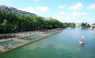 L'espace de baignade du bassin de la Villette doit ouvrir le 15 juillet