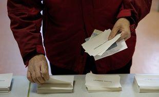 Un bureau de vote en 2012 (image d'illustration).