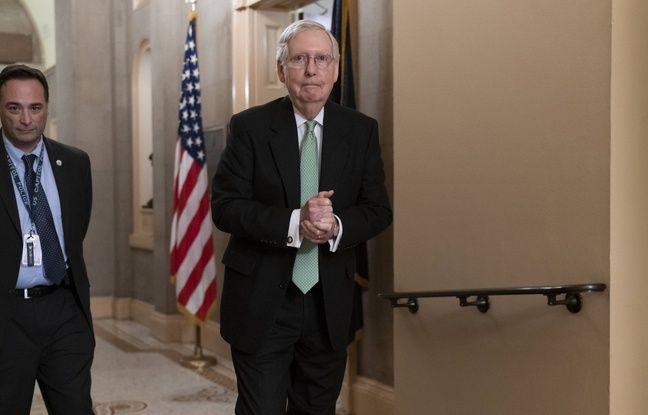 Le chef du parti républicain au Sénat, Mitch McConnell, le 17 décembre 2019.