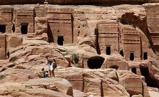 L'ancienne cité de Petra, en Jordanie, le 5 mai 2017. (Illustration)