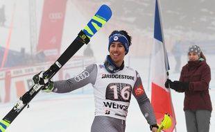 Le Français Victor Muffat-Jeandet a remporté le combiné de Wengen, sa première victoire en Coupe du monde, le 12 janvier 2018.