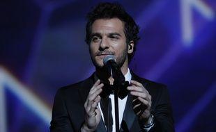 Amir aux Victoires de la musique, le 10 février 2017.