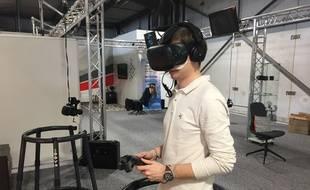 A Villeurbanne, Eydolon propose de tester la réalité virtuelle à travers quatre scénarios.