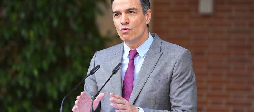 Le Premier ministre espagnol Pedro Sanchez s'est exprimé à l'issue du Conseil des ministres ayant donné son feu vert à la grâce de neuf indépendantistes catalans.