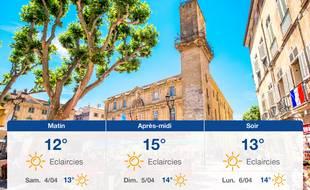 Météo Aix-en-Provence: Prévisions du vendredi 3 avril 2020