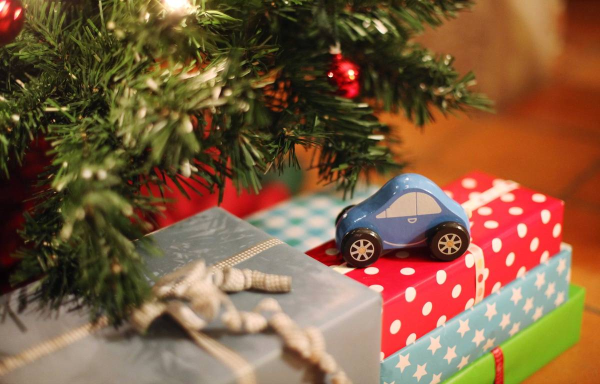 Illustration de cadeaux de Noël. – DELAHAYE CATHERINE/SIPA