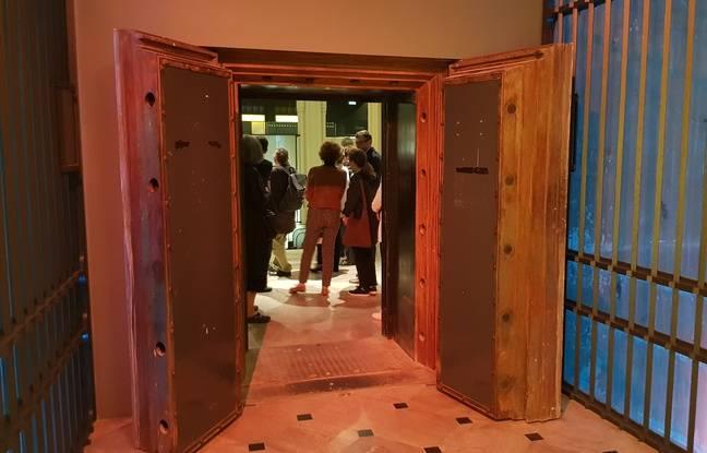 L'entrée de la salle des coffres