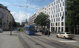 David Ali Sonboly résidait à Maxvorstadt, un quartier cossu du centre de Munich.