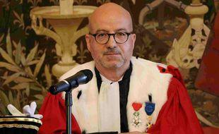 Xavier Ronsin est aujourd'hui le premier président de la cour d'appel de Rennes.